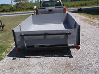 Totally re-built 8' X 6' utility trailer. Great trailer.