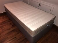 Single bed with mattress in perfect condition