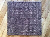 Milliken carpet tiles built in underlay 3.5 boxes