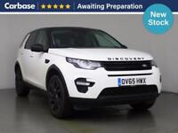 2015 LAND ROVER DISCOVERY SPORT 2.0 TD4 180 HSE Black 5dr Auto SUV 7 Seats