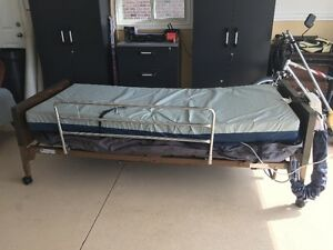 INVACARE MUTI POSITION ELECTRIC HOSPITAL BED