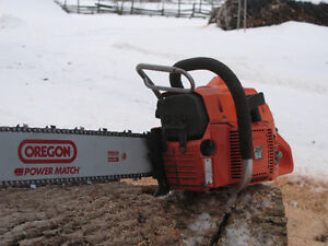 Husqvarna 266 SE modified big bore chainsaw