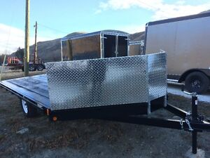 New ATV / Sled Trailers with Mud Guard 2 sizes, your choice!
