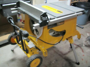 DEWALT Table Saw, Model DW744, portable, wheeled Cambridge Kitchener Area image 1