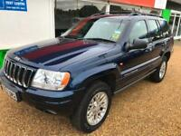Jeep Grand Cherokee 2.7 CRD auto Limited New Mot 09/2018 8 service stamps nice c