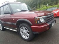 Land Rover Discovery ES TD5 7 SEAT (red) 2003