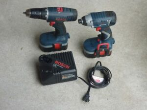 Bosch 2 Speed Drill & Impact driver