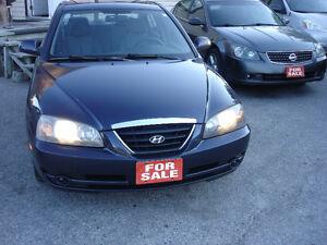 2005 Hyundai Elantra,low km,saftey and E test.