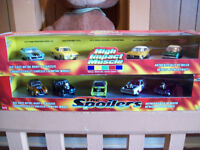 TWO JOHNNY LIGHTING BOX SETS 1/64 scale CAR SETS FOR SALE