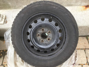 Bridgestone Blizzak Winter Tires / Rims 205/60R/16 92H 4