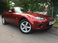 2007 Mazda MX-5 2.0i Option Pack Roadster Coupe Hard Top, FSH, MOT 08/2018