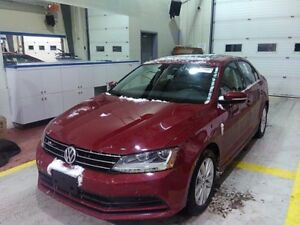 2017 Volkswagen Jetta Wolfsburg Edition Full Factory Warranty!!