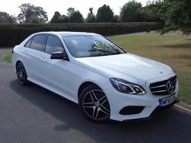 MERCEDES E CLASS E220 CDI BLUETEC AMG NIGHT EDITION 2015/65