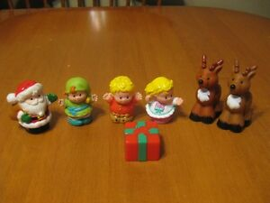 FISHER PRICE LITTLE PEOPLE CHRISTMAS LOT
