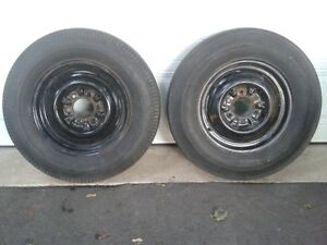 VINTAGE CHEVY 6 LUG WHEELS