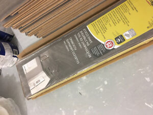 Laminate flooring, grey oak