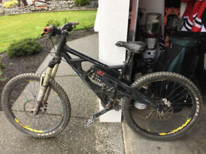 Marin downhill mountain bike