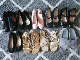 Girls shoes size 3 and 4