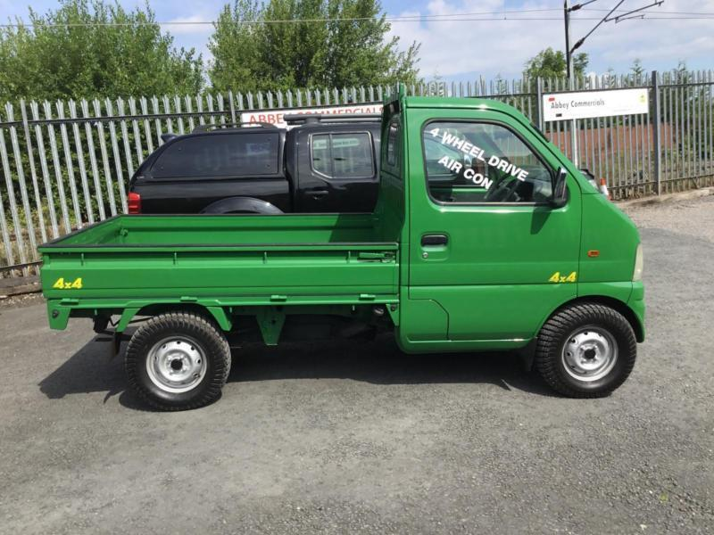 Suzuki Carry pick up truck 4x4 air con This one is now ...