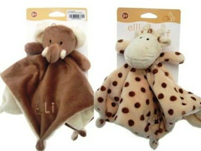 Snuggly Blanket /& Soft Toy Baby Cuddle Blanket New Baby Gift