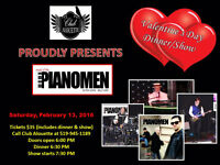 VALENTINE Dinner and a Show - With the PIANOMEN