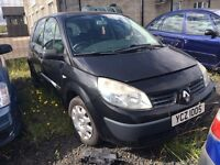 2004 1.4 Petrol Renault Megane Scenic. Breaking for parts only. Postage nationwide