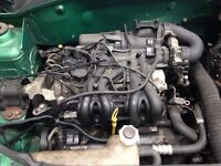 2001 Renault Clio engine and gear box