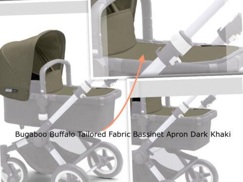 Bugaboo Buffalo Tailored Fabric Bassinet Apron 100% polyester in Dark Khaki New