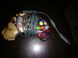 Xbox 360 usb wired controller marvel themed.