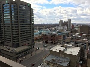 Amazing location! Two bedroom downtown, city view for January London Ontario image 1