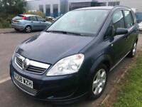Vauxhall/Opel Zafira 1.9CDTi EXCL AUTO 7 SEATER LONG MOT CHEAP RUNNER BARGAIN