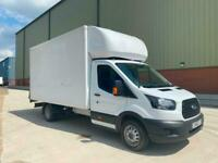 FORD TRANSIT 350 LUTON CHASSIS CAB LWB 2018 68 PLATE