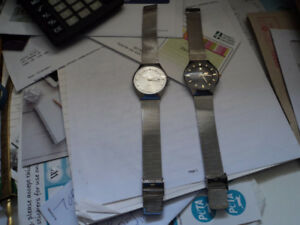 I have two quartz watches for sale
