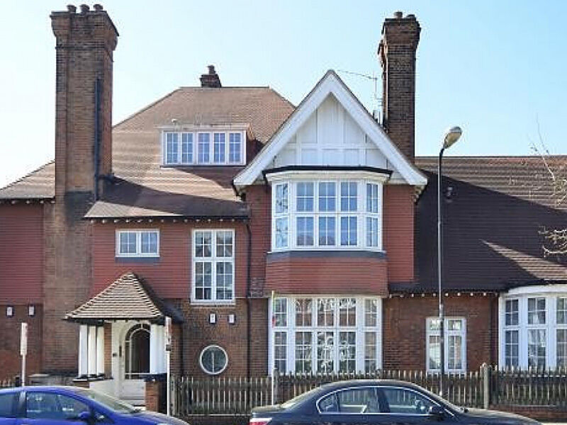 Studio within this quite epic detached house in St Johns Wood and just moments from Primrose Hill