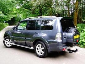 2007 07 Mitsubishi Shogun 3.2DI-DC LWB 5 Door auto Elegance 7 SEATS..HIGH SPEC!!