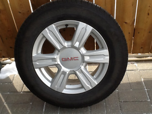 Complete set P225 65R17 Michelin Lattitude tires,rims for sale