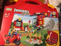 Lego scooby doo and Lego juniors