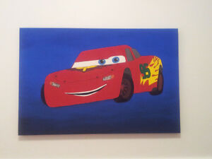 Lightning McQueen Bedroom!