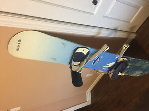 Board, boots, and bindings for $100