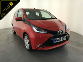 2014 64 TOYOTA AYGO X-PLAY VVT-I 1 OWNER SERVICE HISTORY FINANCE PX WELCOME