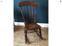 Beautiful old 'Victorian??' traditional rocking chair