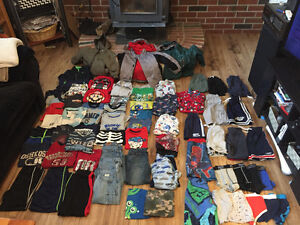 Huge lot of boys 5-6 clothes! Over 70 items *reduced price