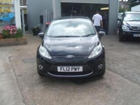 Ford Fiesta Manual Petrol TITANIUM Black 2012 49000 PETROL MANUAL 2012/12