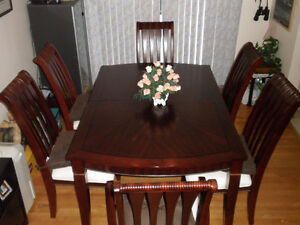 Dinning room table & 6chairs