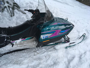 Great snowmobile