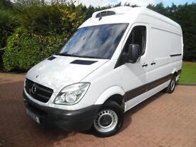 2012/62 Mercedes-Benz Sprinter 313 2.1 CDI MWB H/ROOF TEMPERATURE CONTROLLED VAN