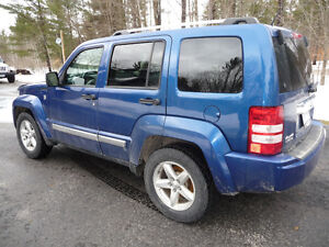 2010 Jeep Liberty Limited Edition SUV, Crossover