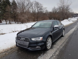 2013.5 Audi S4 Premium - FULLY loaded, services up-to-date