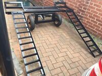 Car recovery dolly/trailer