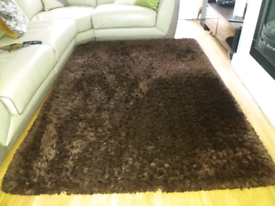 Plush rug